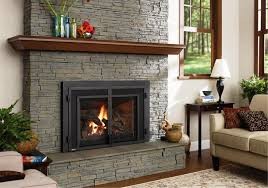 Contemporary Gas Fireplaces by Modern Gas Fireplace Inserts Home Fireplaces Firepits Why Gas