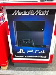 black friday media markt ps4 release november 13 according to mediamarkt neogaf
