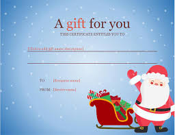 gift certificates office templates