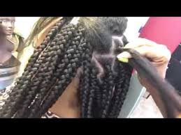 how many packs of hair for box braids jumbo part box braids to save time youtube