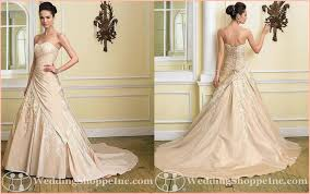 colored wedding gowns the light salmon wedding dress