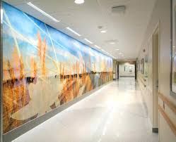 wall ideas digital wall art murals frameless pictures painting hand painted murals or vinyl wallpaper rejuvenate what would be dreary backdrops to patient care a new product makes them pop like never before digital wall