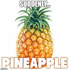 Ananas Pineapple Meme - suddenly pineapple imgflip