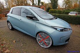 renault twizy blue renault zoe in snow socks my renault zoe electric car