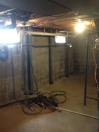 leaky musty crawl space and bowed walls groveport ohio