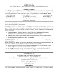 Best Resume To Get Hired by Training Coordinator Resume Training Coordinator Resume We