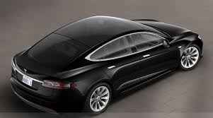 tesla model s gets glass roof probably solar glass roof too