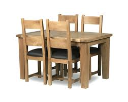 Halo Dining Chairs Oak Dining Table And 4 Leather Chairs Home Design Mannahatta Us