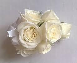 Corsage Wristlets Spring Hill Florist Wristlet Corsage White