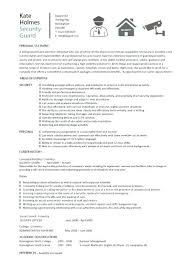 Armed Security Guard Resume Sample Resume Of Security Guard Armed Security Guard Resume By