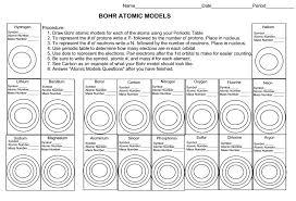 bohr diagram worksheet 100 images atomic structure diagrams of
