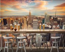 popular wall murals city buy cheap wall murals city lots from 3d wallpaper custom photo non woven mural the new york city scenery decoration painting 3d