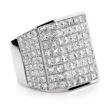 diamond ring for men design wide 14k gold designer and princess cut diamond ring for men