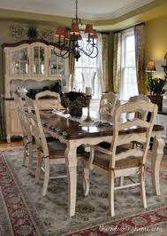 country dining room sets dining room updates tabletop and fabrics