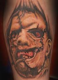 leatherface tattoos
