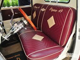 Vintage Ford Truck Seat Covers - 1949 chevrolet 3100 truck lowrider magazine