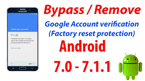 android protection new method bypass account frp protection on android 7 1
