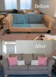How To Make Slipcovers For Couches Do It Yourself Divas Diy Strip Fabric From A Couch And Reupholster It