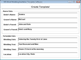 wedding invitation software wedding invitation software badbrya