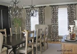 dining room drapery ideas dining room drapes ideas 60 modern window treatment ideas