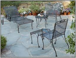 wrought iron patio table vintage patios home decorating ideas