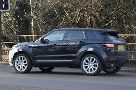 land rover sport 2016 black 2016 range rover evoque mid life facelift spied ingenium diesel