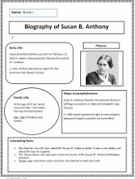 free biography graphic organizer 4th grade technology lesson plans k 5 computer lab
