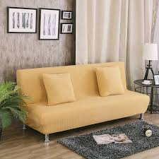 Armless Sofa Bed Uuiversal Stretch Sofa Bed Covers For Living Room Armless