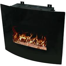 electric fireplaces walmart com decor flame 24 wall mounted