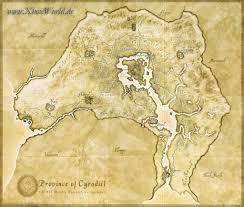 Elder Scrolls World Map by The Elder Scrolls Iv Oblivion User Screenshot 1 For Playstation