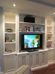 Built In Bookcases With Tv Good Built In For Tv 27 In With Built In For Tv Home