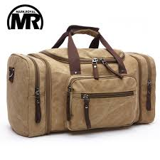 Markroyal canvas men travel bags carry on luggage bags men duffel
