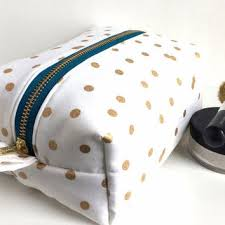 bridal makeup bag shop polka dot makeup bag on wanelo