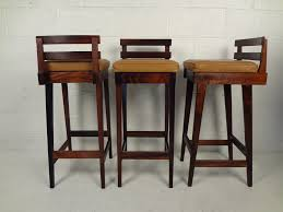 bar stools chic leather bar stools contemporary stool set of htm