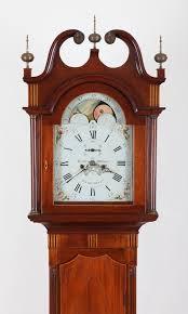 Grandfather Clock Weights Leslie U0026 Williams New Brunswick Adams Brown Co Antique Clocks