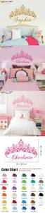 best ideas about wall stickers for kids pinterest bedroom baby girl crown wall sticker custom princess name decals home decor for kids room