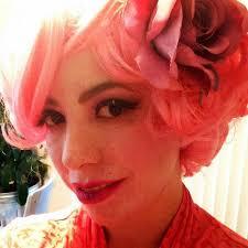 Effie Halloween Costumes Hunger Games Effie Trinket Makeup Tutorial April Golightly