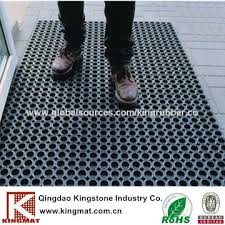 china green rubber grass mat rubber ring deck mat for boat