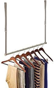 amazon com lynk double hang closet rod organizer clothing