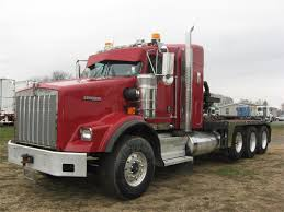 kenworth t800 high hood for sale kenworth winch oil field trucks in pennsylvania for sale used
