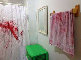Blood Shower Curtain Blood Shower Curtain Coloring Coloring Page