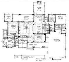 Hillside Floor Plans by Tuscan House Plans Mansura Associated Designs Plan 1st Floor Arafen