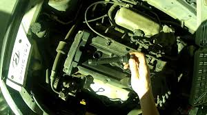 how to change spark plugs hyundai accent 01 05 youtube
