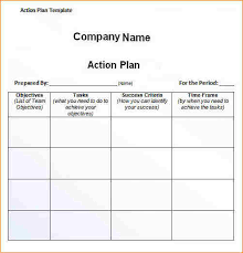 8 action plan template excel academic resume template