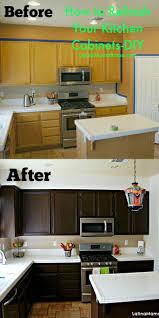 Refinishing Kitchen Cabinet Doors Update Kitchen Cabinet Doors With Molding Refinishing Kitchen