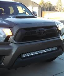 tacoma grill light bar light bar mounts pure tacoma accessories parts and accessories