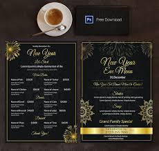 customizable menu templates 6 free menu templates cafe restaurant free premium