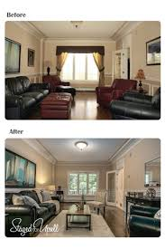 before and after staged for upsell
