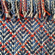Rag Rug Weaving Instructions 100 Best Knotted Rag Rugs Images On Pinterest Rug Making