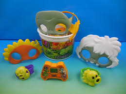 2015 plants zombies 7 burger king kids meal toys video